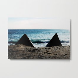The Abandoned Docks of Badalona I Metal Print