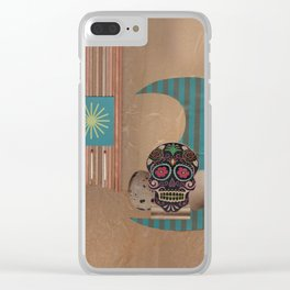 Threes Clear iPhone Case