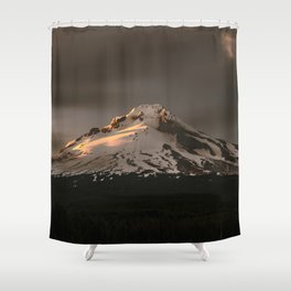 Wy'East Shower Curtain