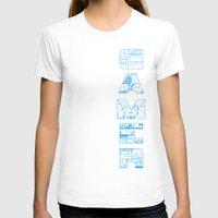 gamer T-shirts featuring Gamer  by Angela Felan