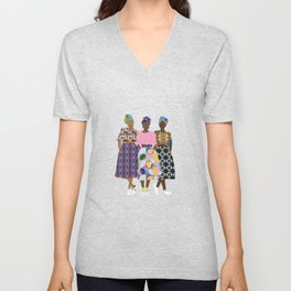 GIRLZ BAND Unisex V-Neck