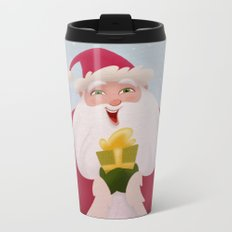 Present From Santa Metal Travel Mug