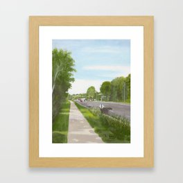 Minnetonka Mills Trail Framed Art Print