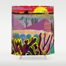 The Desert Within You Shower Curtain