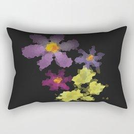 Flower mosaic flower 1 Rectangular Pillow