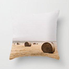 Van Diemens Land Bundles of Hay Throw Pillow