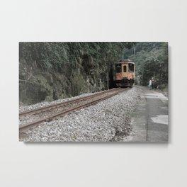 Slow Train Metal Print