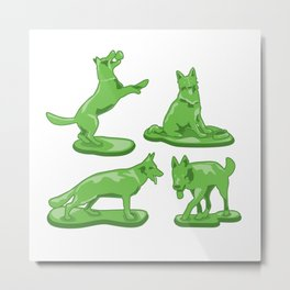 Toy Soldiers Metal Print