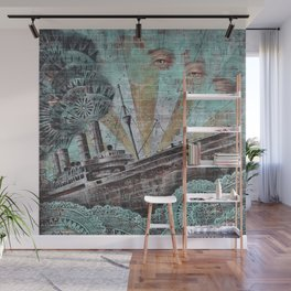 the boat wall Wall Mural