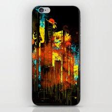 technicity lights iPhone & iPod Skin