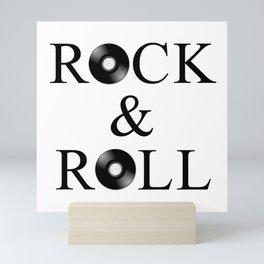 rock AND roll Mini Art Print