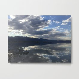 Mono Lake Reflection Metal Print