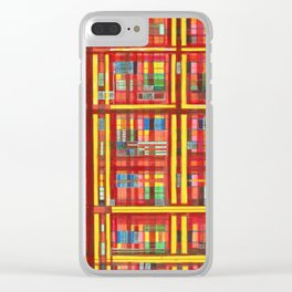Plaid is my favorite Fall colr Clear iPhone Case
