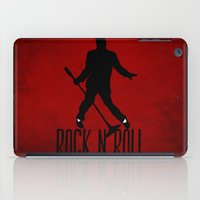 rock n roll iPad Cases featuring Rock N Roll by Eleanor Rose
