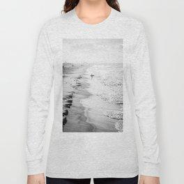 Morning Surfer Manhattan Beach Long Sleeve T-shirt