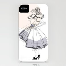 Poofy Dress iPhone (4, 4s) Slim Case