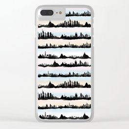 Cities Clear iPhone Case