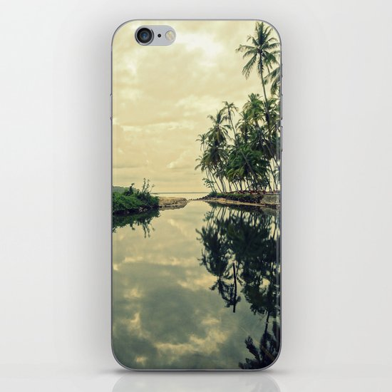 Mood for Reflection iPhone & iPod Skin