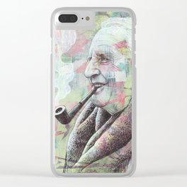JRR Tolkien - One Author To Rule Them All Clear iPhone Case
