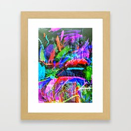 Lily's Watercolor Inverted Framed Art Print