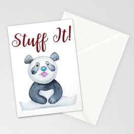 Stuff It Panda Gifts Stationery Cards