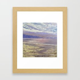 Horizon; View from Savary Island Framed Art Print