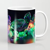 rave Mugs featuring Rave Butterflies by Laurais Arts