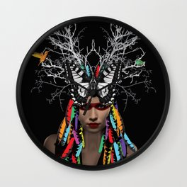 Ethnic Minority Wall Clock