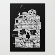 Monsterhouse Canvas Print