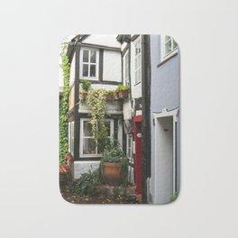 Hanseatic town Bremen - Schnoor Viertel Bath Mat