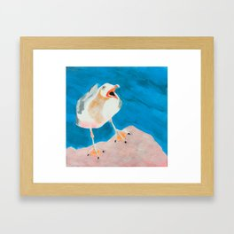 Say What? Framed Art Print