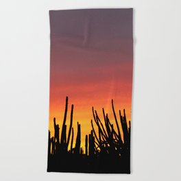 Catching fire Beach Towel