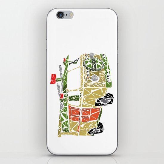The Turtle Van iPhone & iPod Skin