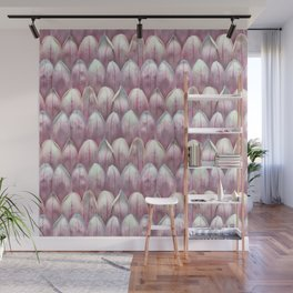 Magnolia Blossom in Blush Wall Mural