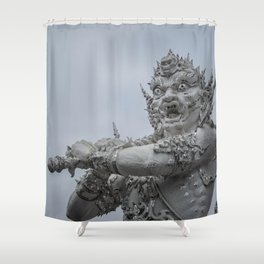 The White Temple - Thailand - 011 Shower Curtain