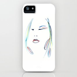 with the Shaman ~ Setting Intention iPhone Case