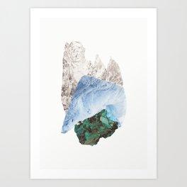 Crystalize I Art Print