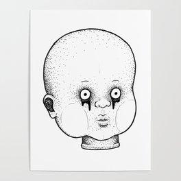 Babydoll Head Poster