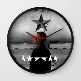 Bowie Black Star Concept Album Cover Wall Clock