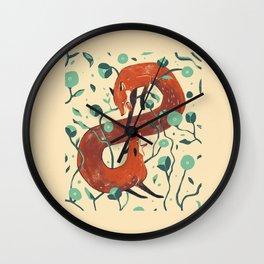 Inner turmoil Wall Clock