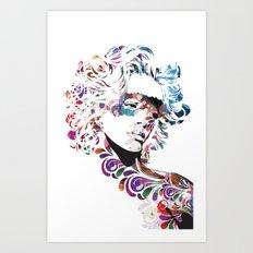 TATTOO ME ALL OVER Art Print