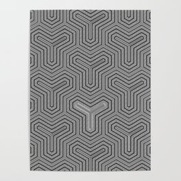 Odd one out Geometric Poster