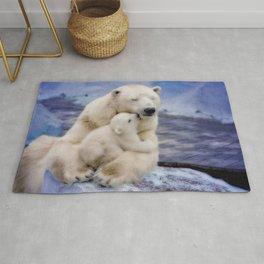 Polar Bear Love Rug