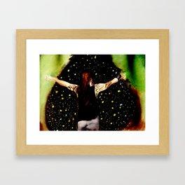 Bray Wyatt and his fireflies Framed Art Print