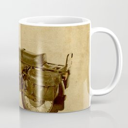 Ducat Condor 350 Militare 1973 old motorcycle militar war bike Coffee Mug