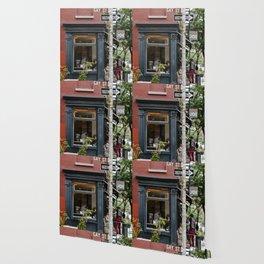Picturesque restaurant in Greenwich Village, New York Wallpaper