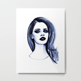 Lana Metal Print