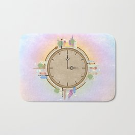 Time goes around Earth , or Earth goes around Time. Bath Mat