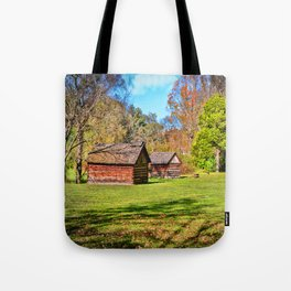 Johnson City Tennessee Cabins Tote Bag