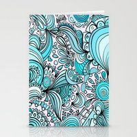 crystal Stationery Cards featuring Crystal by DuckyB
